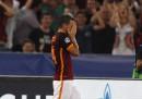 Il grande gol di Alessandro Florenzi in Roma-Barcellona di Champions League