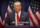 Una tv messicana ha usato un discorso di Donald Trump per promuovere Messico vs USA