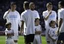 Cristiano Ronaldo è entrato in campo col bambino sgambettato in Ungheria