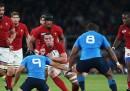 La Francia ha battuto l'Italia 32 a 10 alla Coppa del Mondo di rugby