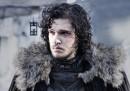 Le foto di Jon Snow sul set di Game of Thrones