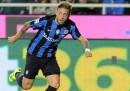 Il gran gol segnato da Alejandro Gómez durante Atalanta-Carpi, da calcio d'angolo