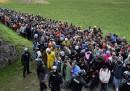 Ora ci sono migliaia di migranti in Slovenia