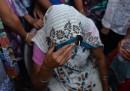Le due bambine stuprate a New Delhi
