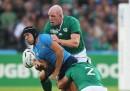 Italia-Irlanda di rugby è finita 9 a 16