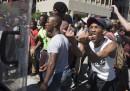 Le proteste degli studenti in Sudafrica