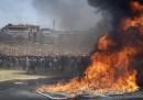 In Sudafrica gli studenti protestano ancora
