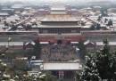 È arrivata la neve a Pechino