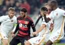 A.S. Roma-Bayer Leverkusen, le formazioni ufficiali