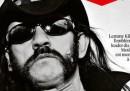 La prima pagina di Libération su Lemmy Kilmister dei Motörhead