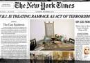 L'editoriale in prima pagina del New York Times contro le armi