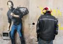 Il nuovo murale di Banksy, a Calais