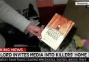 Il guaio dei giornalisti americani nella casa degli attentatori di San Bernardino