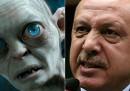 Paragonare Erdogan a Gollum è un reato?