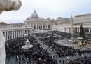 C'era poca gente ieri in piazza San Pietro?