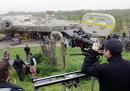 """C'è un video girato dietro le quinte di """"Star Wars: Il risveglio della Forza"""""""
