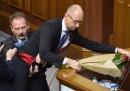 Il video della gigantesca rissa al Parlamento ucraino