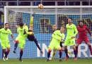 Il bellissimo gol in rovesciata di Murillo contro il Bologna