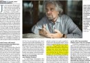 Grillo ha davvero detto che «servono uomini di Stato forti come Trump e Putin»?