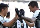 Juventus-Lazio è finita 2 a 0