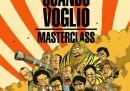 """La copertina del fumetto di """"Smetto Quando Voglio Masterclass"""", disegnata da Zerocalcare"""