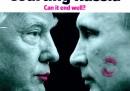 Trump ha dato un bacino a Putin sulla nuova copertina dell'Economist