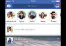 Le Storie di Facebook arrivano anche in Italia