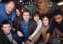 La prima foto del cast del film di Star Wars su Han Solo