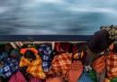Fotografie di un nuovo salvataggio in mare