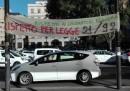 Per cosa protestano i tassisti