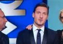 Francesco Totti ha fatto Francesco Totti, a Sanremo