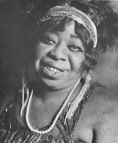 Ma Rainey, madre del blues.