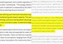 La Casa Bianca ha lodato Exxon, copiando dal sito di Exxon