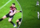Il video del controverso rigore in Juventus-Milan