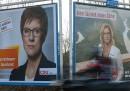 Il primo confronto a distanza fra Merkel e Schulz