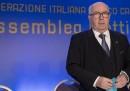 Carlo Tavecchio è stato rieletto presidente della FIGC