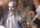 Il video con il lancio di farina contro François Fillon