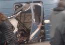 L'attentato alla metro di San Pietroburgo