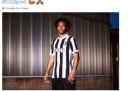 Il tweet di Cuadrado sulla nuova maglia della Juventus