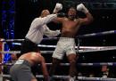 Joshua ha vinto contro Klitschko