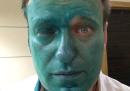 Alexei Navalny è stato aggredito con il Verde brillante