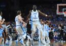 North Carolina ha vinto la finale della NCAA, il campionato di basket per i college americani