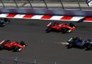 L'ordine d'arrivo del Gran Premio di Russia di Formula 1