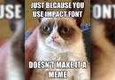 Il font dei meme