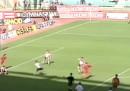 Il primo gol di Totti in Serie A