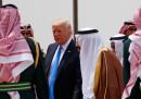 Il primo viaggio all'estero del presidente Trump