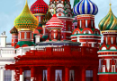 La nuova copertina di Time, con la Casa Bianca in versione russa