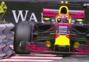 Max Verstappen sembra a suo agio fra le stradine di Montecarlo