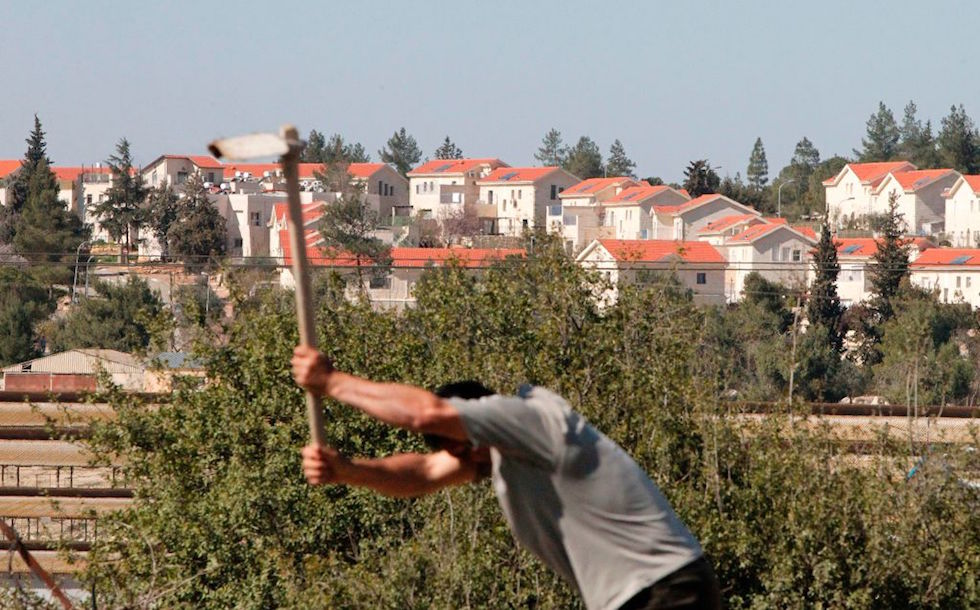PALESTINIAN-ISRAEL-CONFLICT-SETTLEMENTS