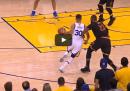 La gran serata di LeBron James e la grandissima serata di Stephen Curry
